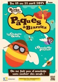 affiche pâques à biarritz