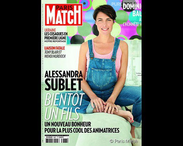 couverture de match Alessandra  Sublet enceinte