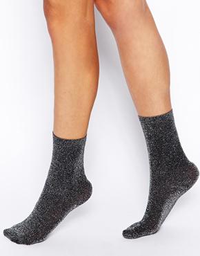 Chaussettes pailletées Asos