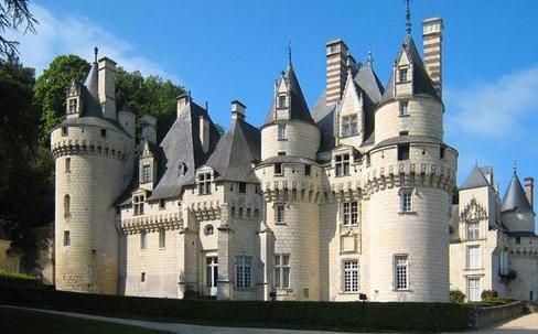 chateau Usse mariage Kim Kardashian