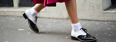 Derbies chaussettes
