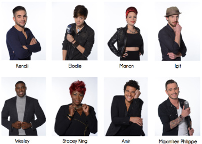 Candidats The Voice tournée