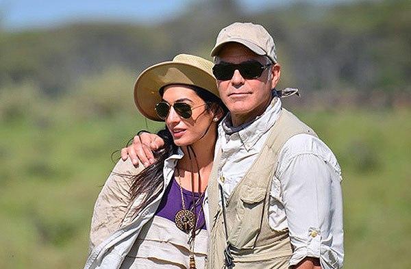 George Clooney Amal Alamudin