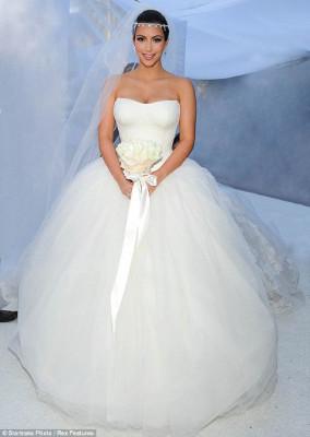 Kim Kardashian premier mariage