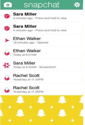 Appli Snapchat