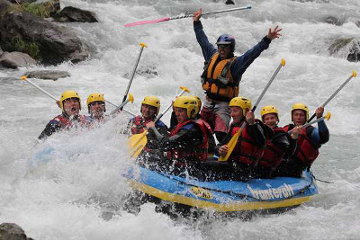 EVG rafting