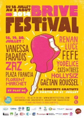 Brive Festival affiche
