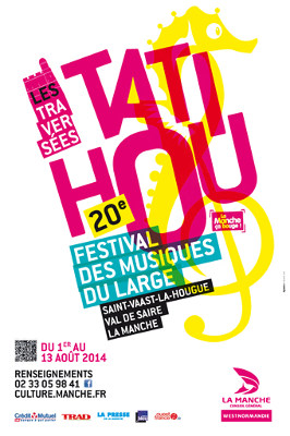 Affiche festival Tatihou
