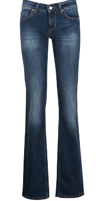 Jeans fesses rondes pattes d'eph