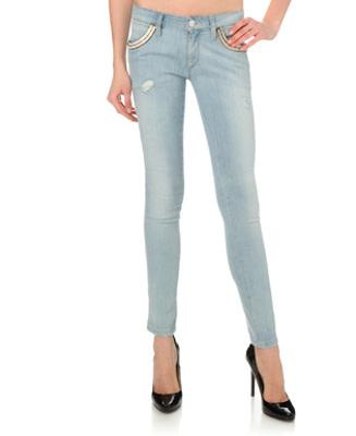 Jeans fesses plates minces