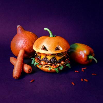 burger halloween