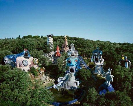 Niki de Saint Phalle jardin des Tarots