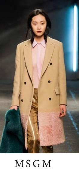 look manteau touche fourrure