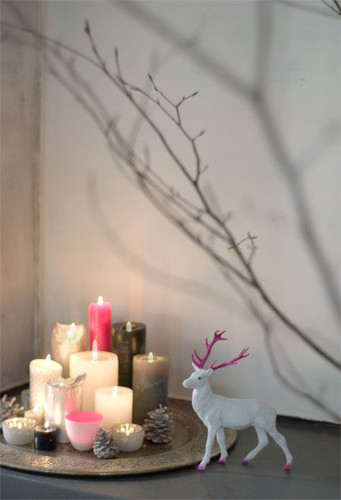 bougies plateau