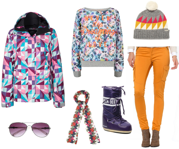 sport d'hiver color addict
