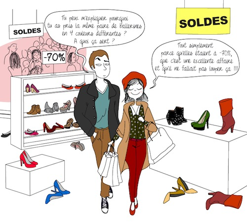 soldes humour couple
