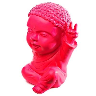 moine bouddha Iki bonheur