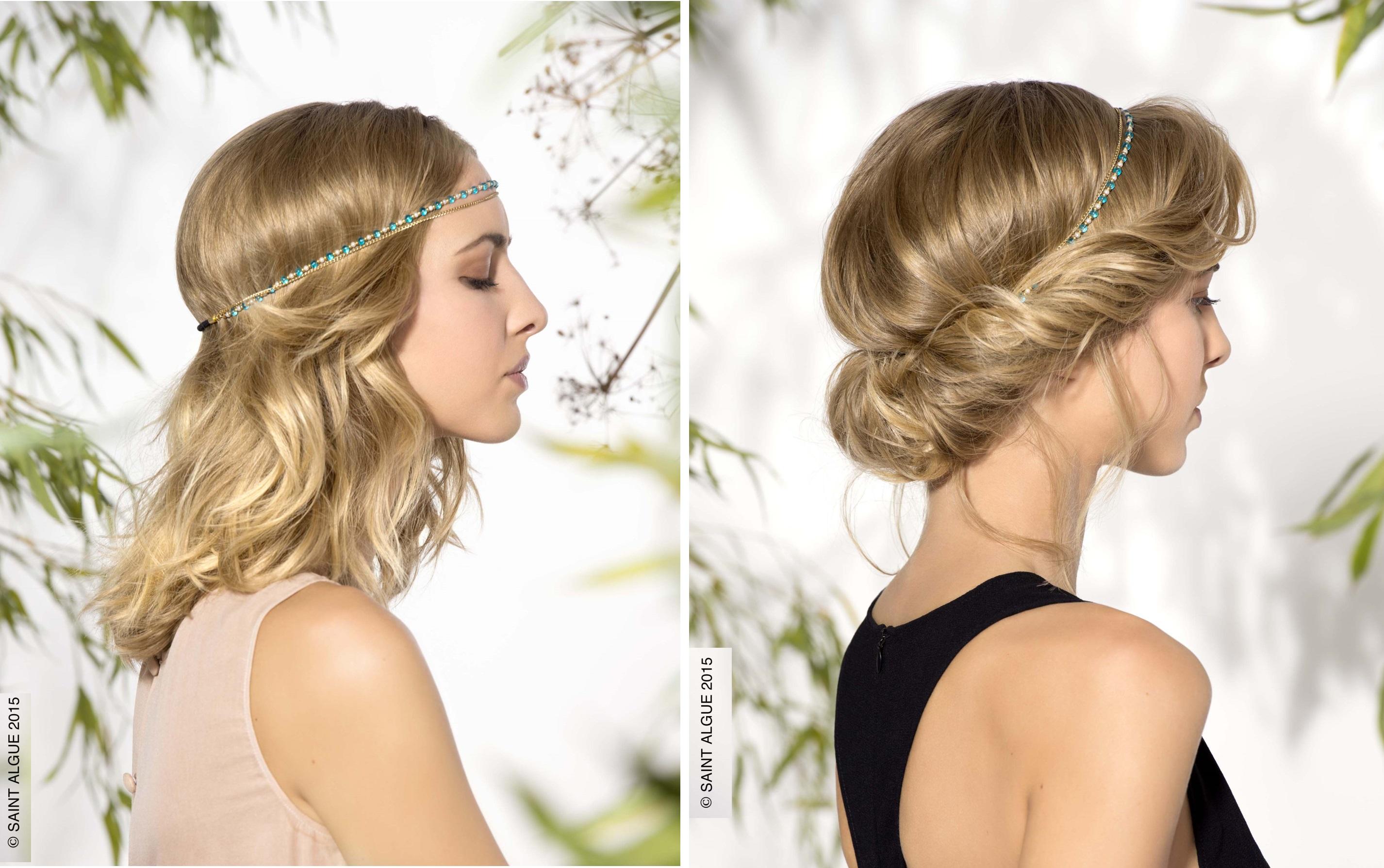 Inspirations coiffures pour les f tes trucs de nana - Coiffure pour les fetes ...