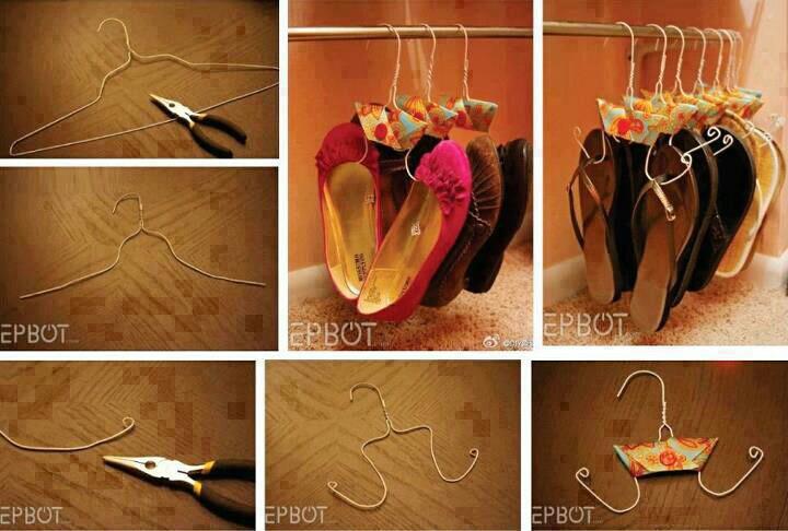 Les meilleures id es pour ranger ses chaussures trucs de - Astuce pour ranger ses boucles d oreilles ...