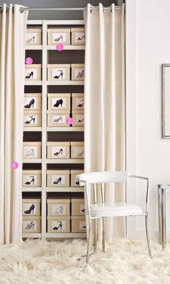 beautiful rangement chaussures astuces ideas joshkrajcik. Black Bedroom Furniture Sets. Home Design Ideas