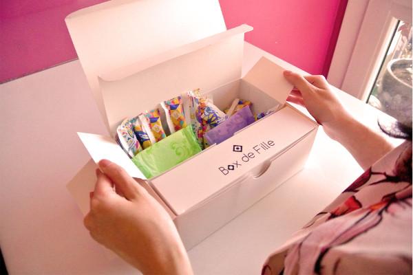 Code promo sur une box de filles, un coffret rien que pour nous ...