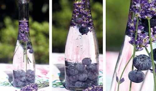 detox water blueberry