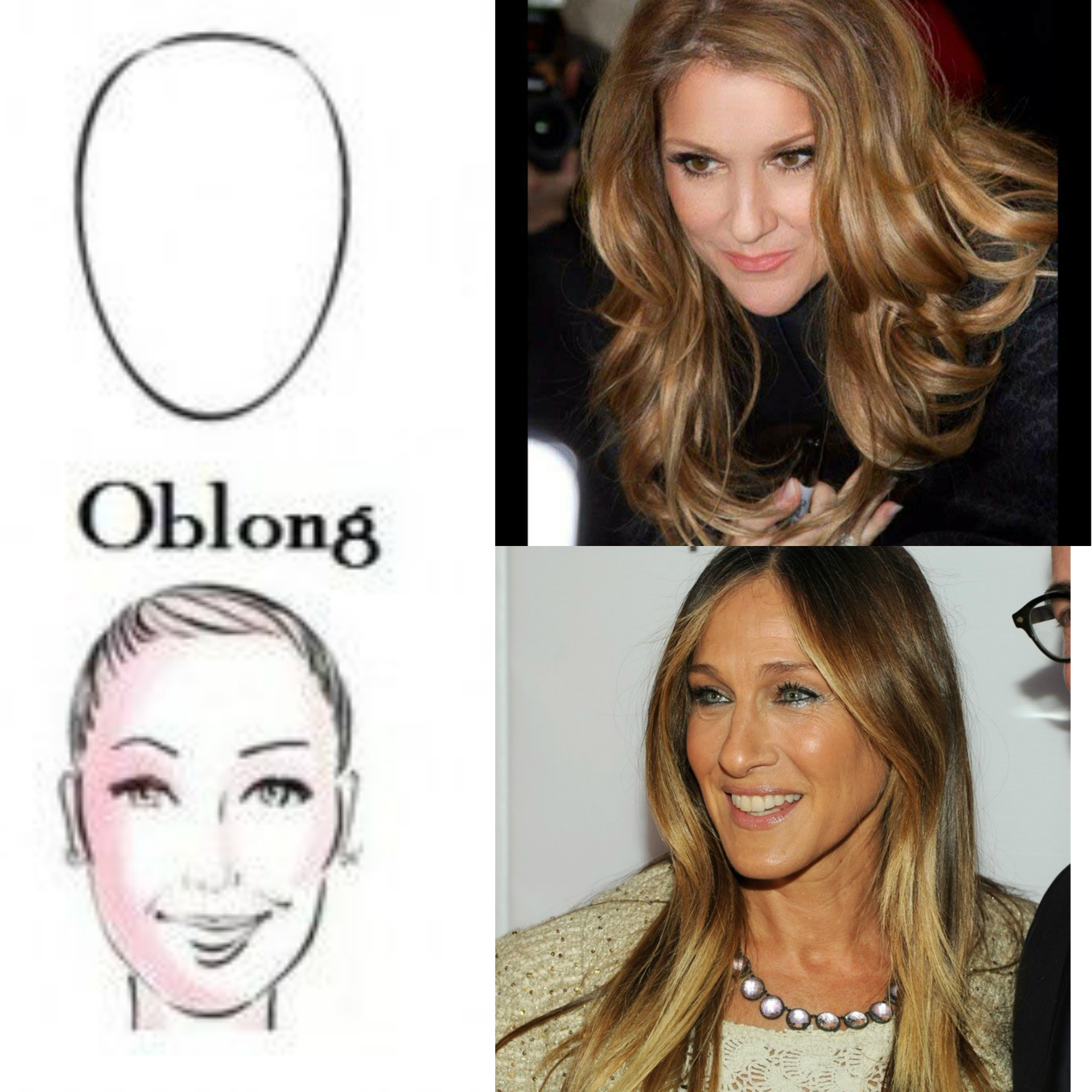 Le hair contouring la coloration pour sculpter son - Quelle coupe pour visage allonge femme ...
