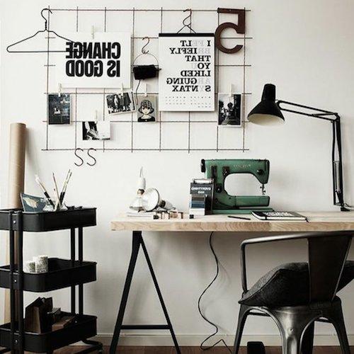 Bureau Style Industriel Chaise Tolix Bureau Metal Bois 5 Trucs De Nana