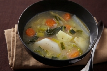 Soupe d'hiver avec des légumes - Trucs De Nana