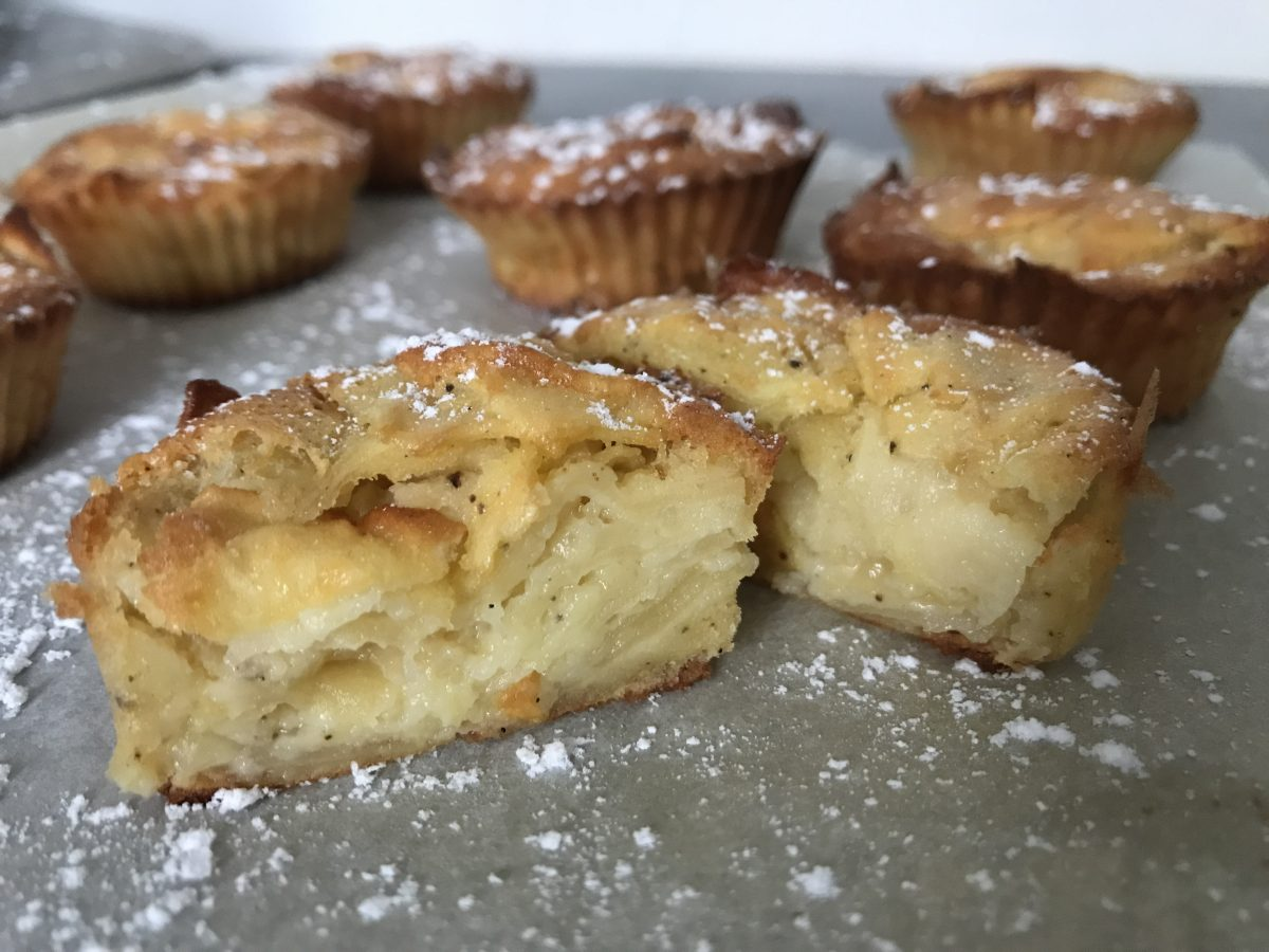 muffins invisibles aux pommes-tonka