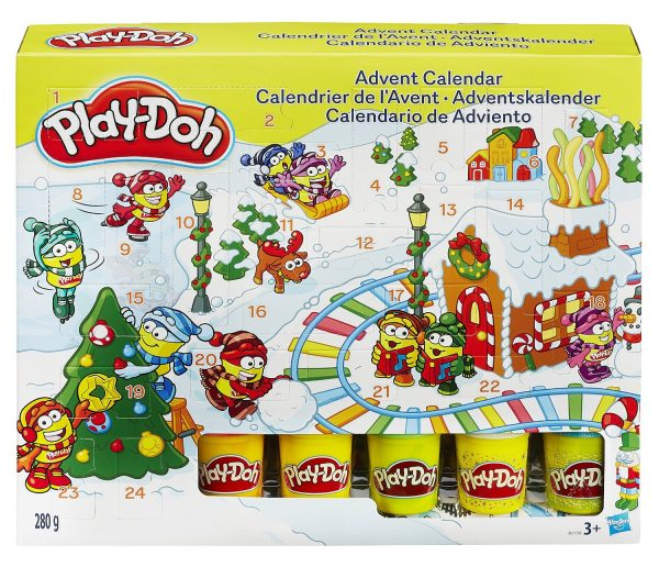 Calendrier Play-Doh