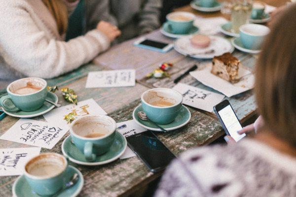 café - table