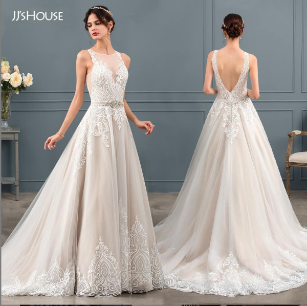 JJ house - silhouette robe de mariée