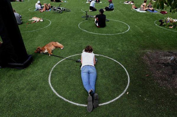 cercle distance parc