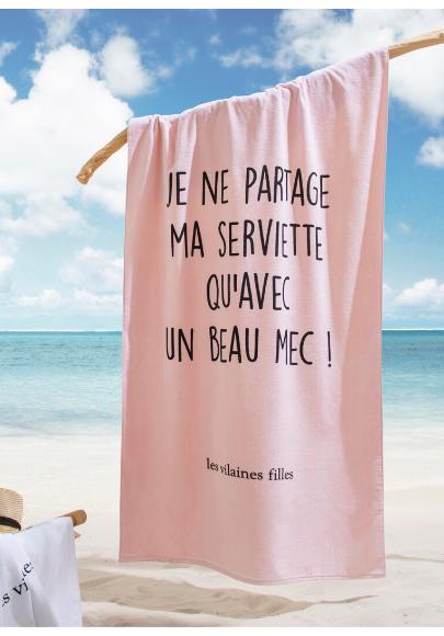 drap-de-plage-message-les-vilaines-filles